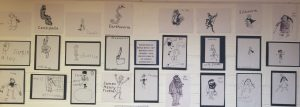 We learned about Roald Dahl during his 100th birthday with Primary 7! We illustrated pictures just like Quentin Blake!