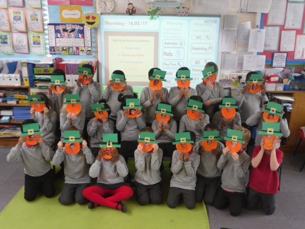 Happy St. Patrick's Day from P1/2!