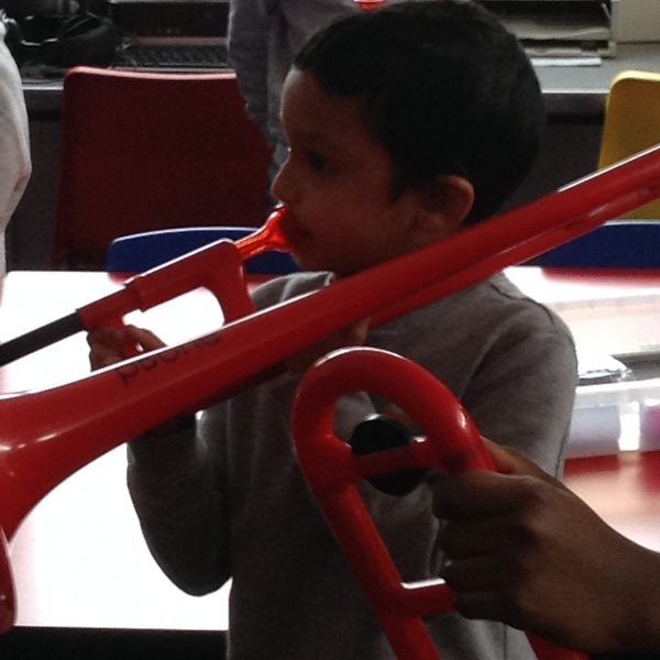 Making Music – Trombone lessons🎼