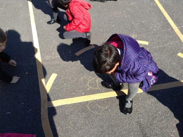 Outdoor maths.