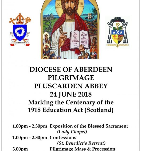 Diocescan Pilgrimage to Pluscarden Abbey